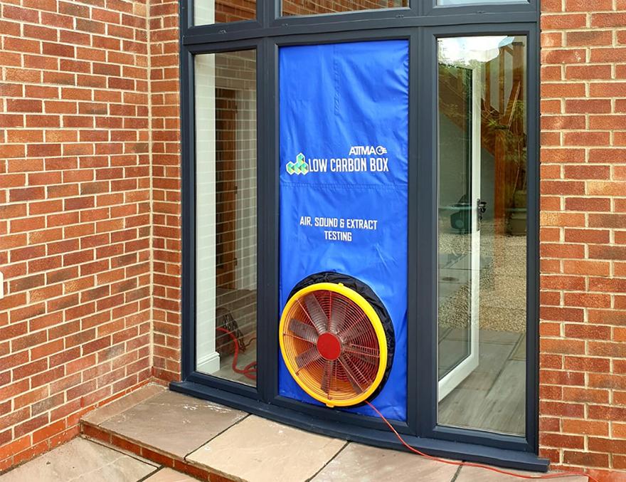 Air Tightness Testing Door